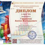 Гаврилов Антон Валерьевич