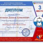 147 Беляков Данила Алексеевич